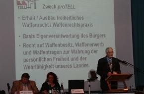 proTELL: Samedi 13 avril 2013: 35e assemblée générale de proTELL - «Un peuple sans arme est un peuple sans défense»