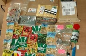 Polizeidirektion Pirmasens: POL-PDPS: Pirmasenser Drogenfahnder stellen Kräutermischungen sicher