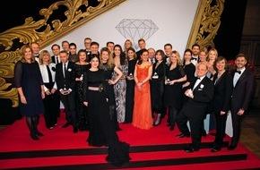 """Bauer Media Group, Cosmopolitan: COSMOPOLITAN ehrt mit dem 24. Prix de Beauté Produktinnovationen der Kosmetikindustrie / Über 300 Gäste feiern beim """"Oscar der Kosmetikbranche"""""""