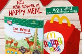 McDonald's Deutschland: Neues Happy Meal bei McDonald's