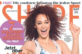 "Bauer Media Group, Shape: Faszien-ierend: ""Germany's next Topmodel""-Kandidatin Luana (19) gewinnt SHAPE Cover-Shooting und Yoga-Strecke"