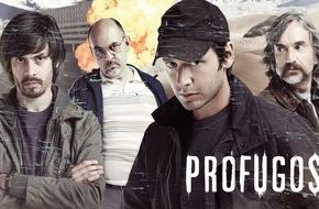 """Sky Deutschland: Erstmals im deutschen Fernsehen: Sky präsentiert die chilenische HBO-Thrillerserie """"Prófugos - Auf der Flucht"""""""