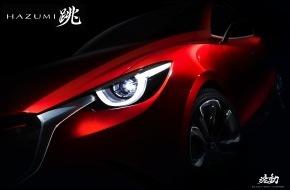 Mazda (Suisse) SA: Weltpremiere des Mazda HAZUMI am Genfer Automobilsalon 2014 (BILD + ANHANG)