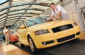 Audi AG: 114. Ordentliche Hauptversammlung der AUDI AG - Nach dem Rekordjahr 2002: Quartalszahlen für 2003 auf hohem Niveau des Vorjahres - trotz schwieriger Marktlage