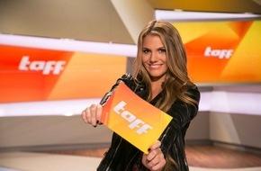 ProSieben Television GmbH: Nachwuchs aus gutem Hause: Viviane Geppert moderiert das ProSieben-Magazin taff