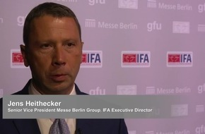 IFA 2017 - Die global führende Messe für Unterhaltungselektronik startet in Berlin