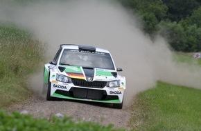 Skoda Auto Deutschland GmbH: Thüringen Rallye: Halbzeit-Champion Kreim will seine Führung in der DRM ausbauen