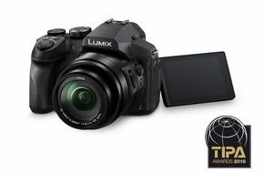 """Panasonic Deutschland: Drei TIPA Awards für Panasonic / Der Fotopresse-Verband TIPA würdigt Panasonic mit den Auszeichnungen """"Beste Superzoom Kamera"""", """"Bestes CSC- Einstiegsobjektiv"""" und """"Bester Camcorder"""""""