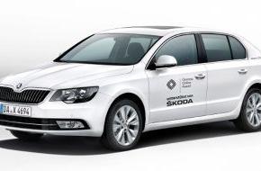 Skoda Auto Deutschland GmbH: SKODA fährt die VIPs zum Grimme Online Award 2014 (FOTO)