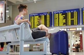 HUK-Coburg: Erholung ausgeschlossen / Das Flugzeug hat Verspätung - im Hotel warten unliebsame Überraschungen: Wie verhält man sich richtig?