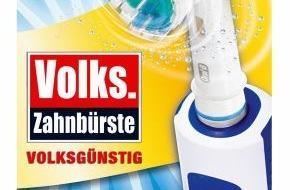 """Oral-B: Präsentiert von Oral-B und BILD.de: Jetzt in aller Munde - die """"Volks-Zahnbürste"""""""
