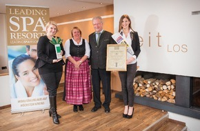 Leading Wellness, Spa & Beauty Resorts*****: SCHÜLE�S Gesundheitsresort & Spa gewinnt den Leading Spa Award 2014