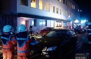 Feuerwehr Iserlohn: FW-MK: Brand in Asylunterkunft