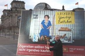 Philip Morris GmbH: Die Philip Morris GmbH führt die Kampagne gegen illegalen Zigarettenhandel aufgrund des positiven Echos fort