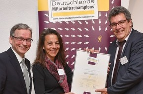 DQS GmbH: DQS GmbH gehört zu Deutschlands Mitarbeiterchampions 2016