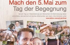 Aktion Mensch: Am 5. Mai ist der Tag der Begegnung! / Tolle Aktionen und Veranstaltungen in vielen deutschen Städten