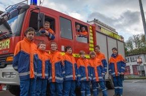 Freiwillige Feuerwehr Menden: FW Menden: Neue Mitglieder für die Jugendfeuerwehr