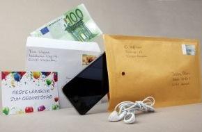 Deutsche Post DHL: Bargeld und Wertsachen per Post versenden