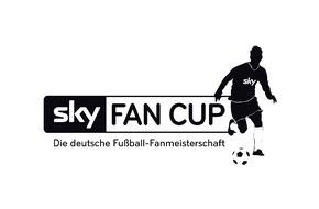 Sky Deutschland: Wer wird Deutscher Fußball-Fanmeister? Der Sky Fan Cup 2015 am 6. Juni in Essen