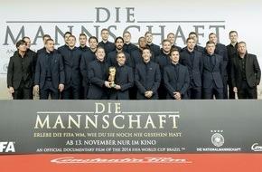 Constantin Film: Großes Wiedersehen mit den WM-Helden / Weltpremiere von DIE MANNSCHAFT
