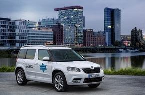 Skoda Auto Deutschland GmbH: SKODA unterstützt Jüdisches Filmfestival mit VIP-Shuttle