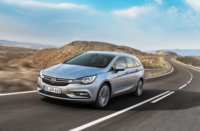 Adam Opel AG: Fit for Job & Family: Der Opel Astra Sports Tourer feiert Weltpremiere