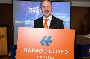 "Hapag-Lloyd Cruises: ""125 Jahre Kreuzfahrten"": Aus Hapag-Lloyd Kreuzfahrten wird Hapag-Lloyd Cruises"