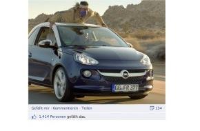 Facebook: Starke Marke mit Erfolg / Wie Opel mit Facebook neue Wege geht