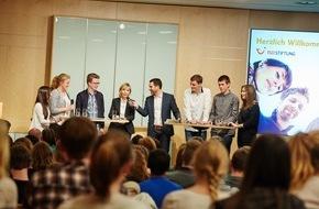 """TUI AG: Doris Schröder-Köpf eröffnet Europa-Dialog der TUI Stiftung / """"Europe live!""""- Diskussion mit Schülern aus der Region Hannover"""