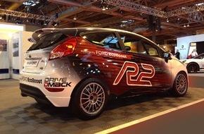 Ford-Werke GmbH: Rallye-Premiere für 1,0-Liter-EcoBoost-Triebwerk: Neuer Ford Fiesta R2 präsentiert sich der Weltöffentlichkeit
