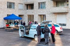 Mobility Carsharing Schweiz: Sunnige Hof: Carsharing-Autos für die Mieter