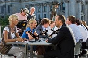 PHOENIX: PHOENIX-Programmhinweis - Innovatives Format Politiker-Speed-Dating, Mittwoch, 9. September 2009, 16.00 Uhr (Wdh. 22.15 Uhr und 0.00 Uhr)