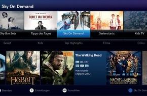 Sky Deutschland: Das neue Sky Entertainment-Erlebnis - mehr Komfort, mehr Auswahl, mehr auf Abruf