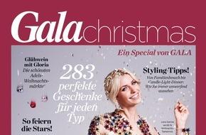 Gruner+Jahr, Gala: GALA Christmas: Das neue GALA-Special präsentiert großartige Ideen rund um Weihnachten / Über 280 Geschenkideen / Stardesigner illustrieren ihren Wunsch-Weihnachtsbaum
