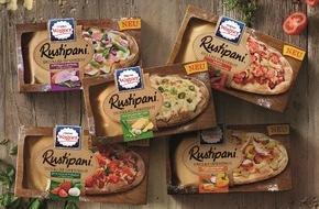 Nestlé Wagner GmbH: Der Trendsnack aus der Tiefkühltruhe: Rustipani - das neue Ofenbrot von Wagner