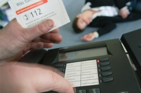 Stiftung Deutsche Schlaganfall-Hilfe: Deutsche Schlaganfall-Hilfe informiert / Europäischer Notruf kommt langsam bei Bürgern an