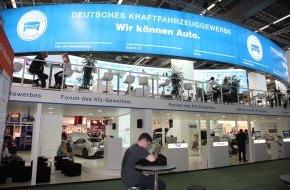 Zentralverband Deutsches Kraftfahrzeuggewerbe: Scheunenfund und Telematik: Kfz-Gewerbe auf der Automechanika