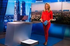 München Live TV Fernsehen GmbH & Co. KG: Neues Studio bei münchen.tv: 'münchen heute' erstrahlt in neuem Design