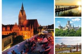 Hannover Marketing und Tourismus GmbH: HMTG zieht Rekord-Jahresbilanz 2015: Die Landeshauptstadt Hannover erzielte im letzten Jahr 2.232.282 Übernachtungen, die gesamte Region Hannover verzeichnete 3.866.030 Gästeübernachtungen