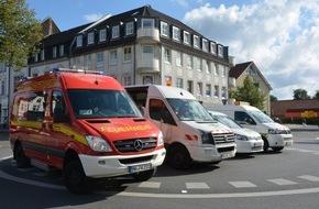 Feuerwehr Mülheim an der Ruhr: FW-MH: Gasaustritt in Heißen