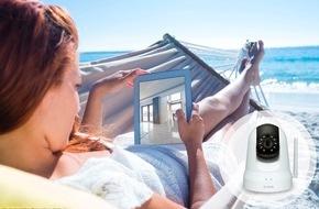 D-Link Deutschland GmbH: Keine Chance für Einbrecher - entspannt in den Sommerurlaub dank Wireless-Kameras