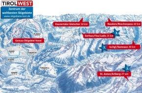 Ferienregion TirolWest: TirolWest - Zentrum der weltbesten Skigebiete