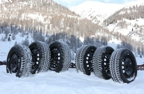 "Touring Club Schweiz/Suisse/Svizzero - TCS: Test TCS sui pneumatici invernali 2015: quasi tutti ""raccomandati"""
