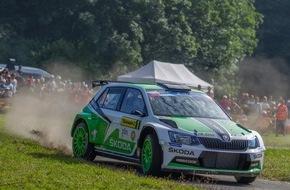 Skoda Auto Deutschland GmbH: Jan Kopecky holt tschechischen Meistertitel im SKODA Fabia R5