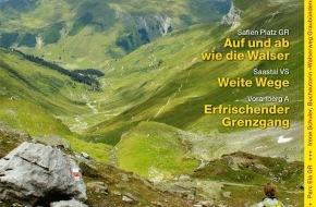 "Wandermagazin SCHWEIZ: ""Wandermagazin Schweiz"" im September, 9_2011: Walserwege"