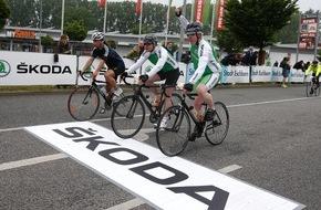Skoda Auto Deutschland GmbH: SKODA startet bei ,Rund um den Finanzplatz Eschborn-Frankfurt' in die Radsportsaison
