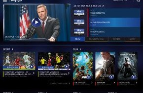 Sky Deutschland: Das neue Sky Go: Design-Update, neue Funktionen und weitere Inhalte für das beste Online-Fernsehen