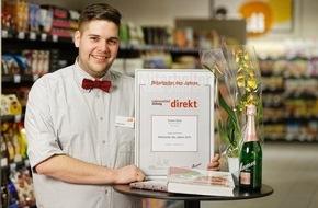 """Lebensmittel ZeitungDIREKT: Torben Bock ist """"Mitarbeiter des Jahres 2015"""" im Lebensmitteleinzelhandel"""