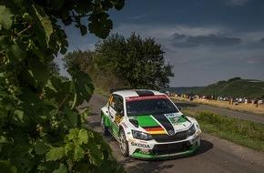 Skoda Auto Deutschland GmbH: Sieg-Hattrick für den SKODA Fabia R5 in der Rallye-WM - Kreim landet auf Platz acht