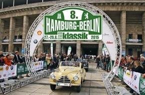 AUTO BILD: 8. Hamburg-Berlin-Klassik 2015: Der Countdown für die Anmeldung läuft